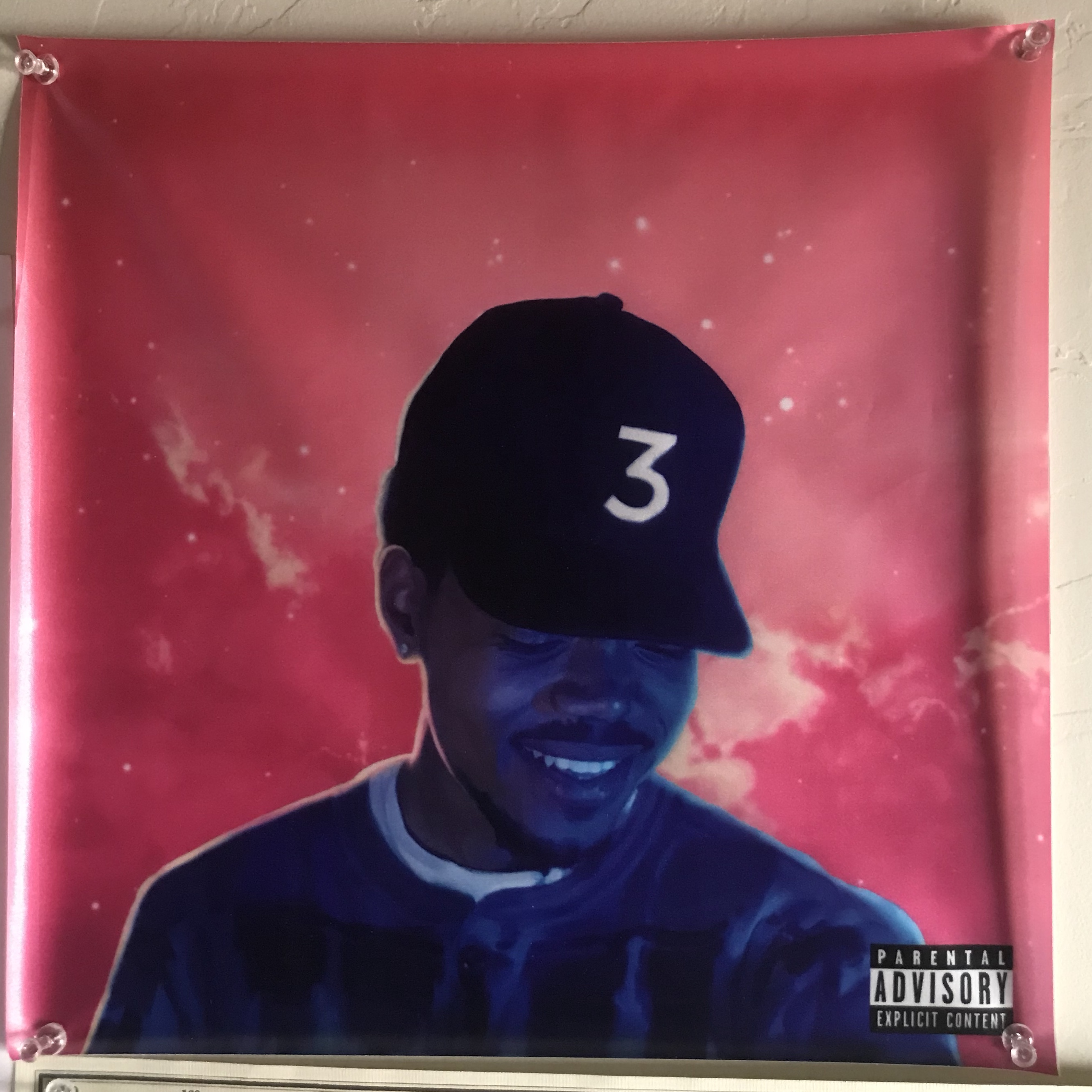 Chance The Rapper Coloring Book Album Cover Poster  Chance The Rapper poster  merch   album print  music poster  custom poster