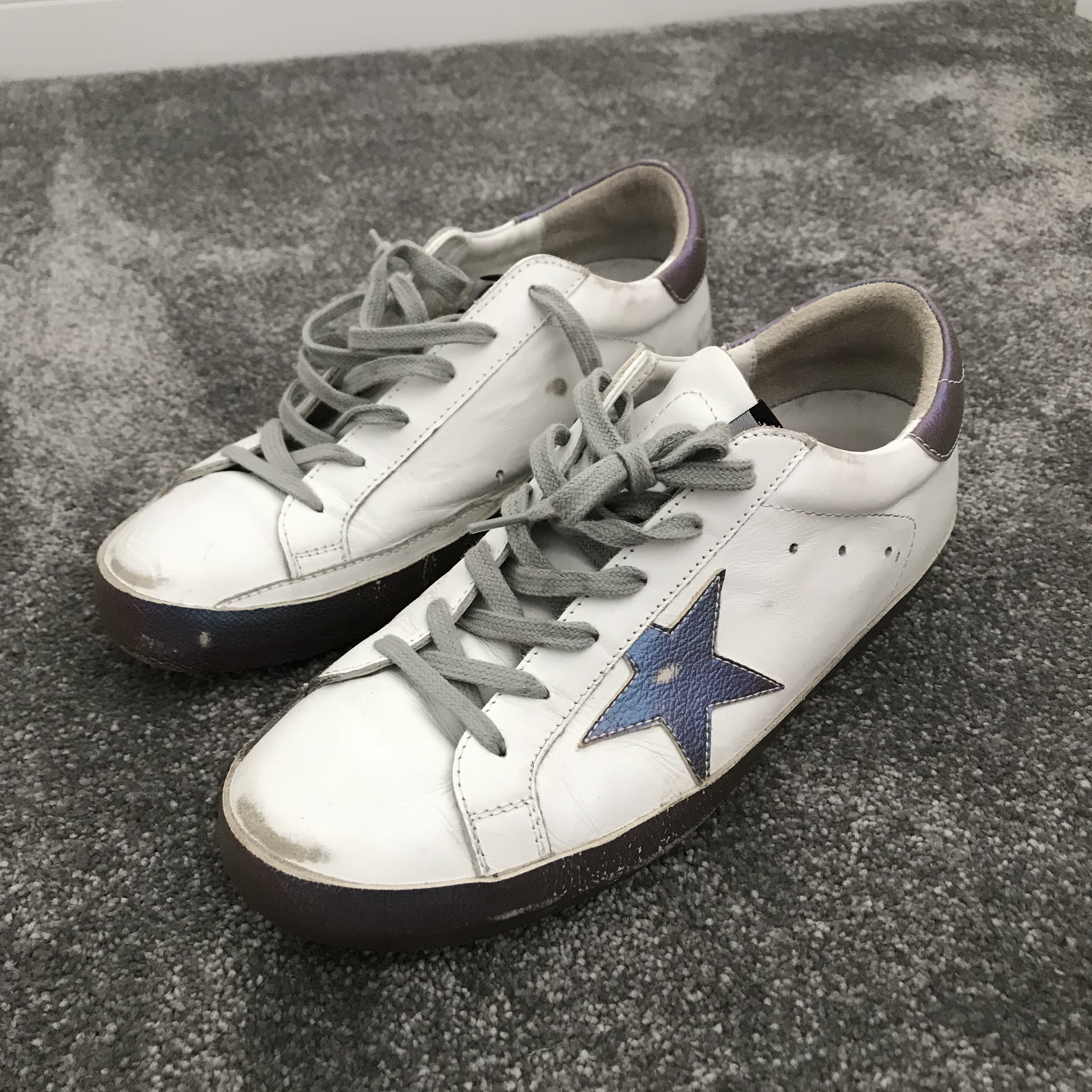 Golden goose trainers size 40 Fit uk6