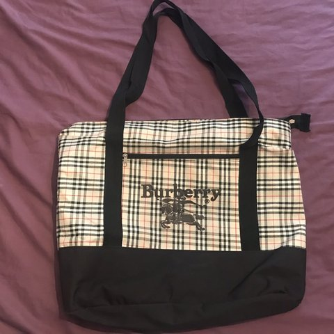 22268a5a60 @hggarms. last month. Middlesbrough, United Kingdom. BURBERRY TOTE BAG