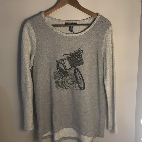 Grey Style Co Sweater From Macys Bought This A Depop