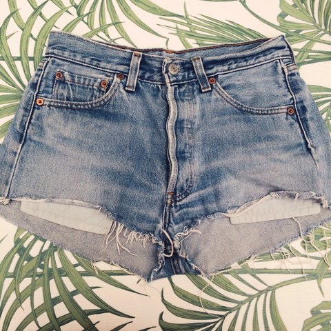 a42443cd7f @emmamash. 4 years ago. Sale, UK. Levis vintage cut off shorts from Urban  Outfitters.