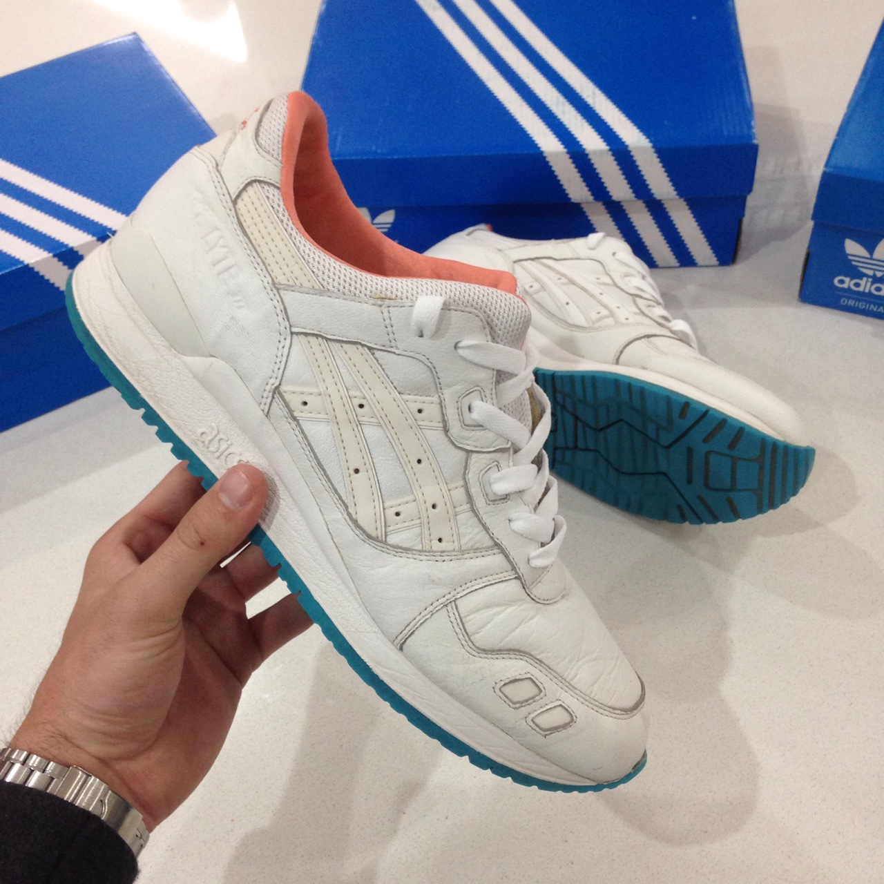 outlet store d136b 7ecb0 Asics Gel Lyte iii Miami Vice | Limited Edition |... - Depop