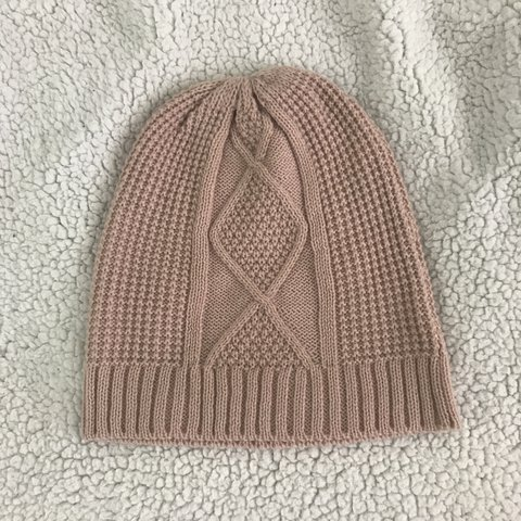 941da3acc04 This model retails for  50! Really cute mauve pink beanie! - Depop
