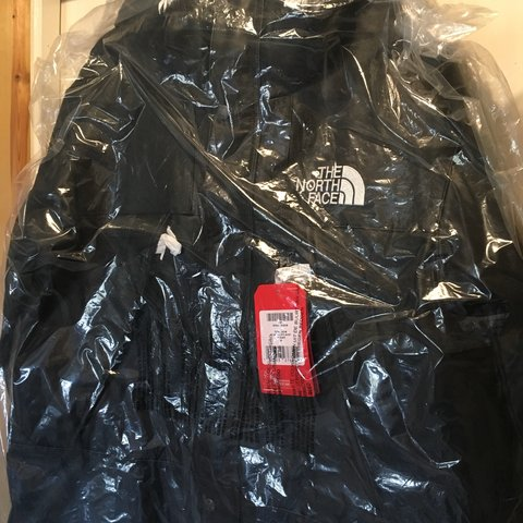 Supreme North Face Leather Parka In Hand Ready To Size Uk On Depop