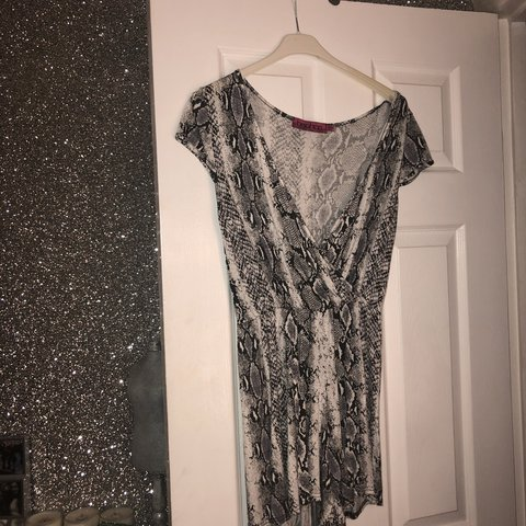 0fbe78b17cc Grey snakeskin playsuit💙 size 8 but would fit 10 12