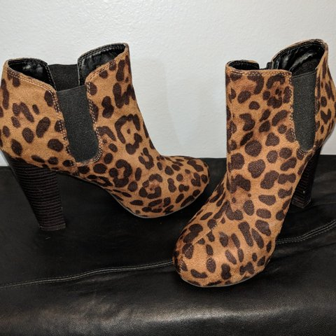 d4b1b462d2f8 @stylewolf. last month. Colorado, US. Madden girl leopard print ankle boot  ...
