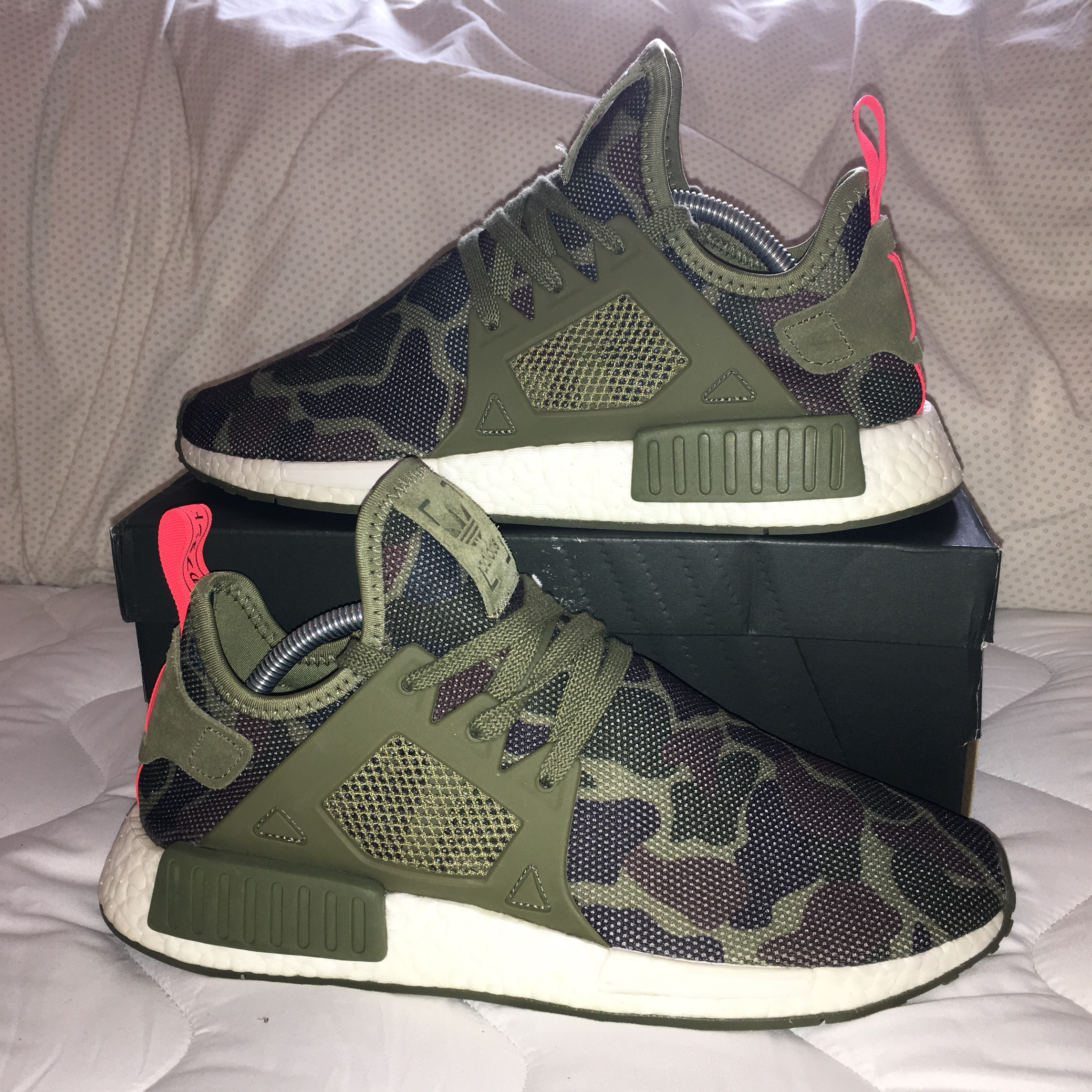 the latest 7f253 fc57a Adidas NMD XR1 Duck Camo Olive Green Deadstock (new... - Depop