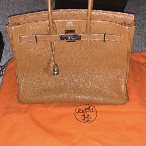 4bb6861d9a2 Authentic Hermes Birkin with serial number. Dust bag no box