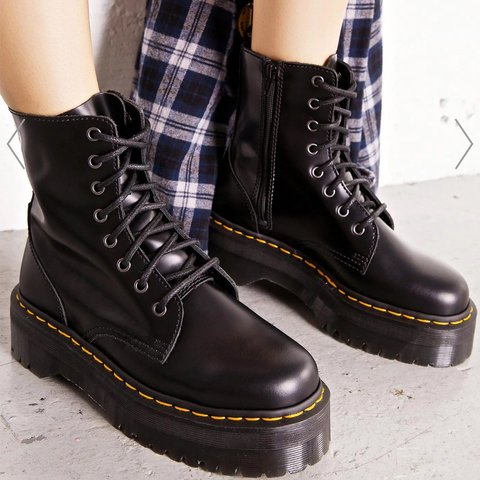 c1c62d03f562 Image from Dolls Kill website Dr Martens Jadon 8 Eye 10. - Depop
