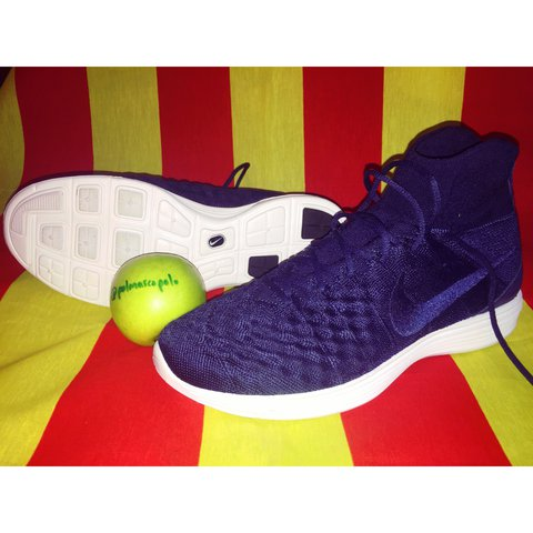 """the best attitude 41822 4364a @polmarcopolo. last year. Midway, United States. 🔥NIKE LUNAR MAGISTA II  FLYKNIT FC """"COLLEGE NAVY"""" ..."""