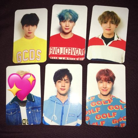 Unofficial Bts Lover Yourself Her Version V Photocards And Depop
