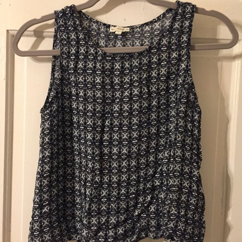 Mercer Madison Printed Top Good Condition Small Depop