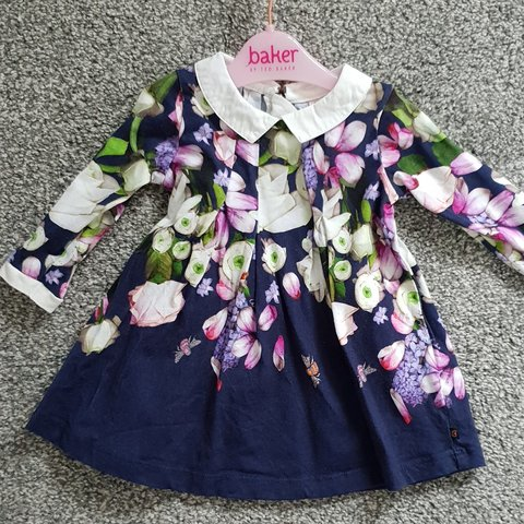 5c0e2ddab Worn once immaculate baby girls ted baker dress age 0-3 - Depop