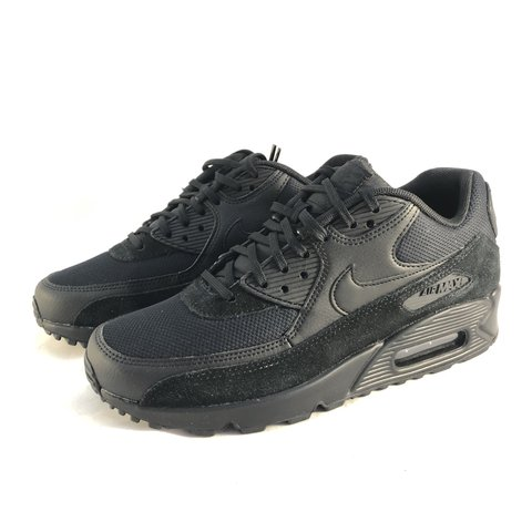 cba89cfdb6e2 Nike Air Max 90 • Triple Black • Women s UK 5.5 • Brand New - Depop