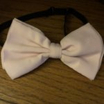 3a6e97e32 Men s Bow Tie and Suspenders by J. Ferrar. pink bow tie with - Depop