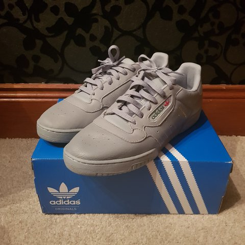 1f4b20ec0fb Adidas Yeezy Powerphase Calabasas in grey size UK 11.5. Worn - Depop