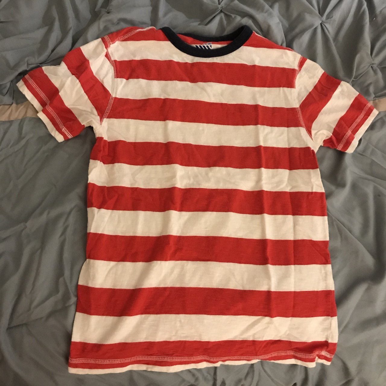 6e4f483661 Red And White Striped Shirt Old Navy