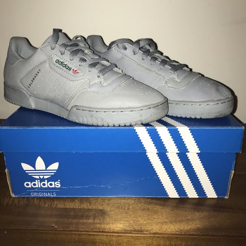 41453fe9c0f25 Adidas yeezy powerphase calabasas grey size 7.5 with tags so - Depop