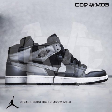 "45d7da752b44 🦇NIKE AIR JORDAN 1 RETRO HIGH OG ""SHADOW""🦇 COPMOB is a of - Depop"
