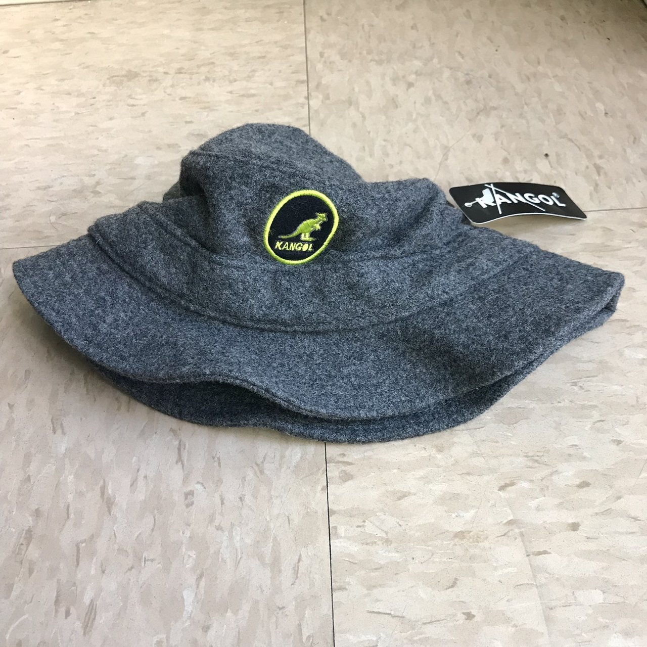 Kangol bucket hat size small to medium brand new with US - Depop 90eac9a67aa