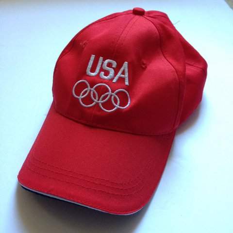 300f385e32a Red Team USA Olympics baseball hat. Go team USA 🇺🇸 size No - Depop
