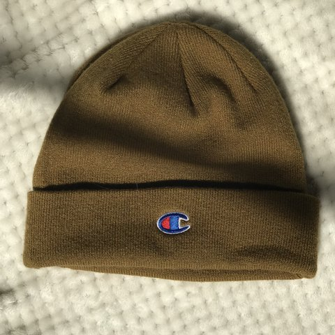 4d4b669c61ee0 CHAMPION BEANIE HAT✨ Bought the hat from urban outfitters a - Depop