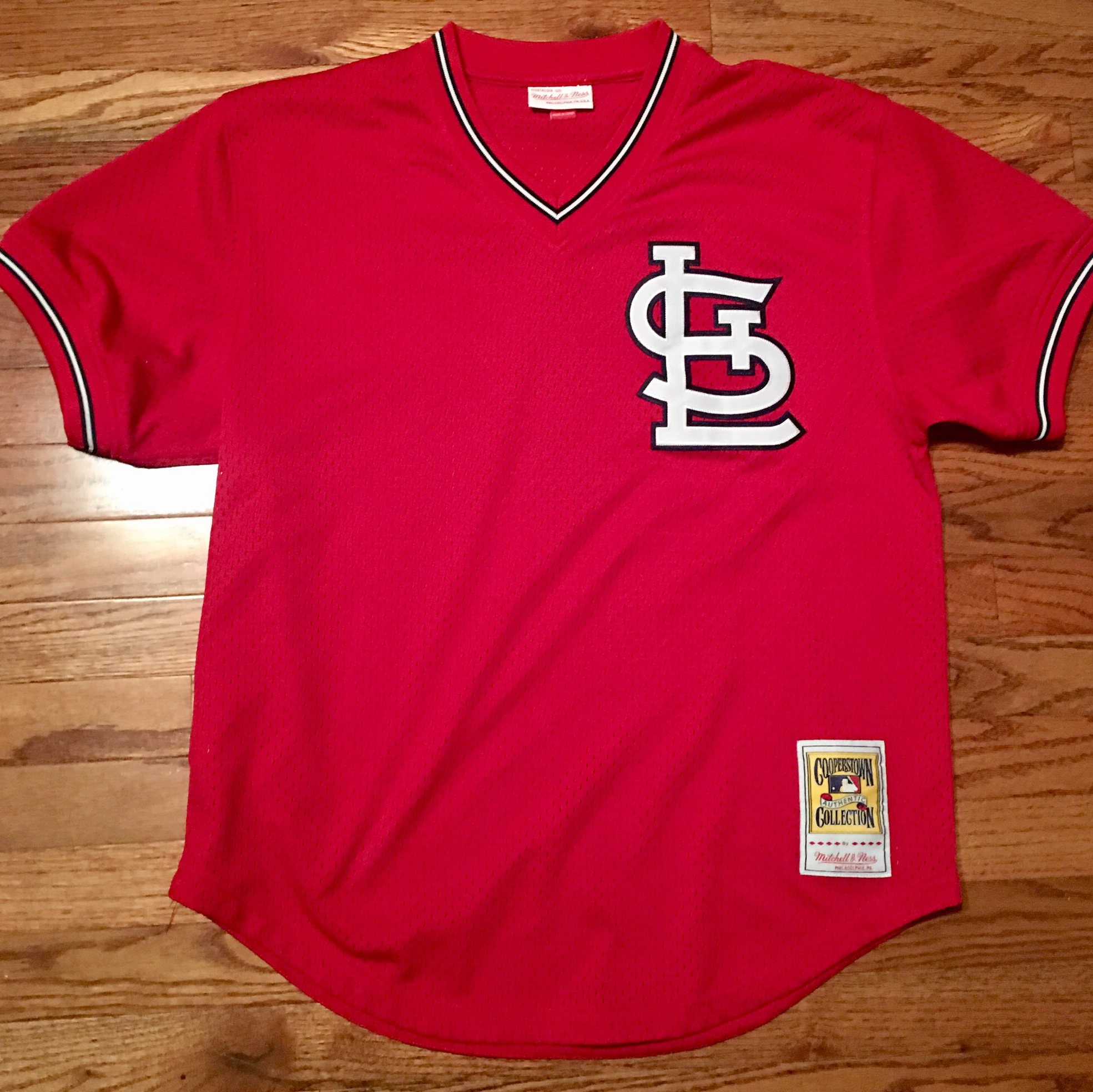 promo code 4a485 ab0b7 Authentic Cooperstown Collection St. Louis Cardinals... - Depop