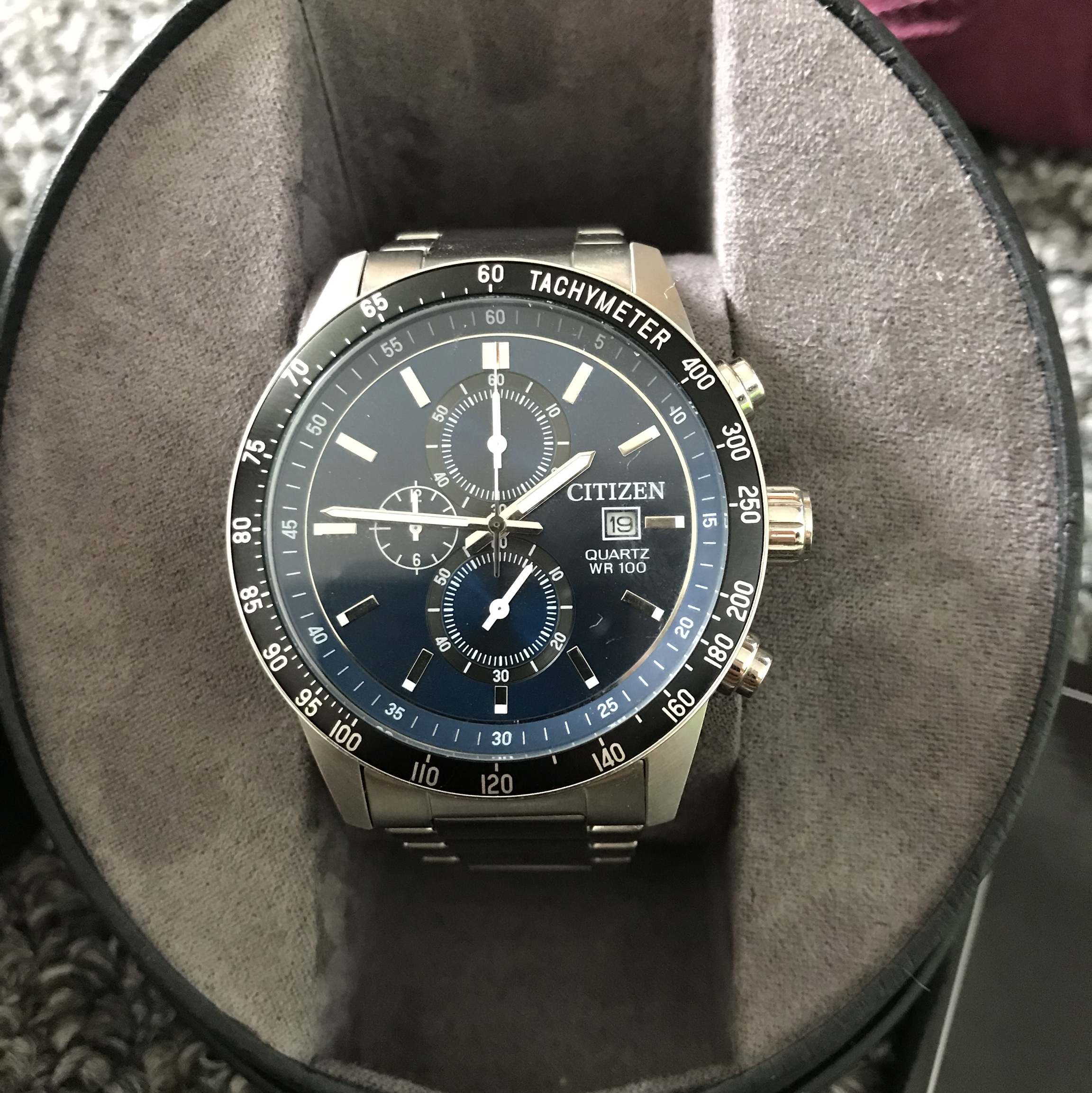 Citizen Watch Eco Drive Wore Once Immaculate Depop