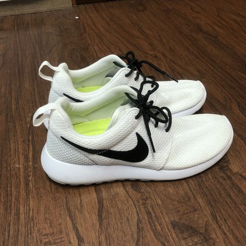 478e4df16e75  haenachon. last year. United States. White Custom Nike Roshe Shoes White  Nike