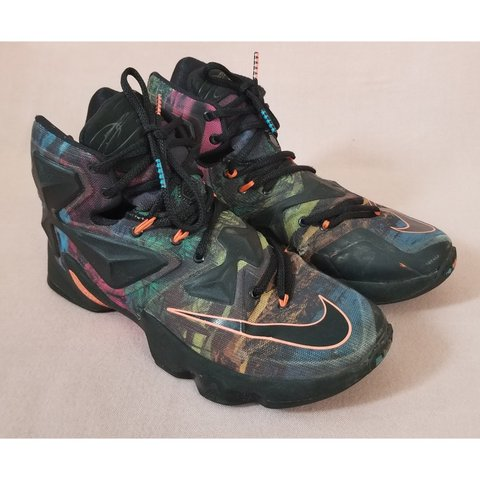 d2fd5cd69ee3 Super sick multi-colored Nike Lebron James XIII 330 Shoes. I - Depop