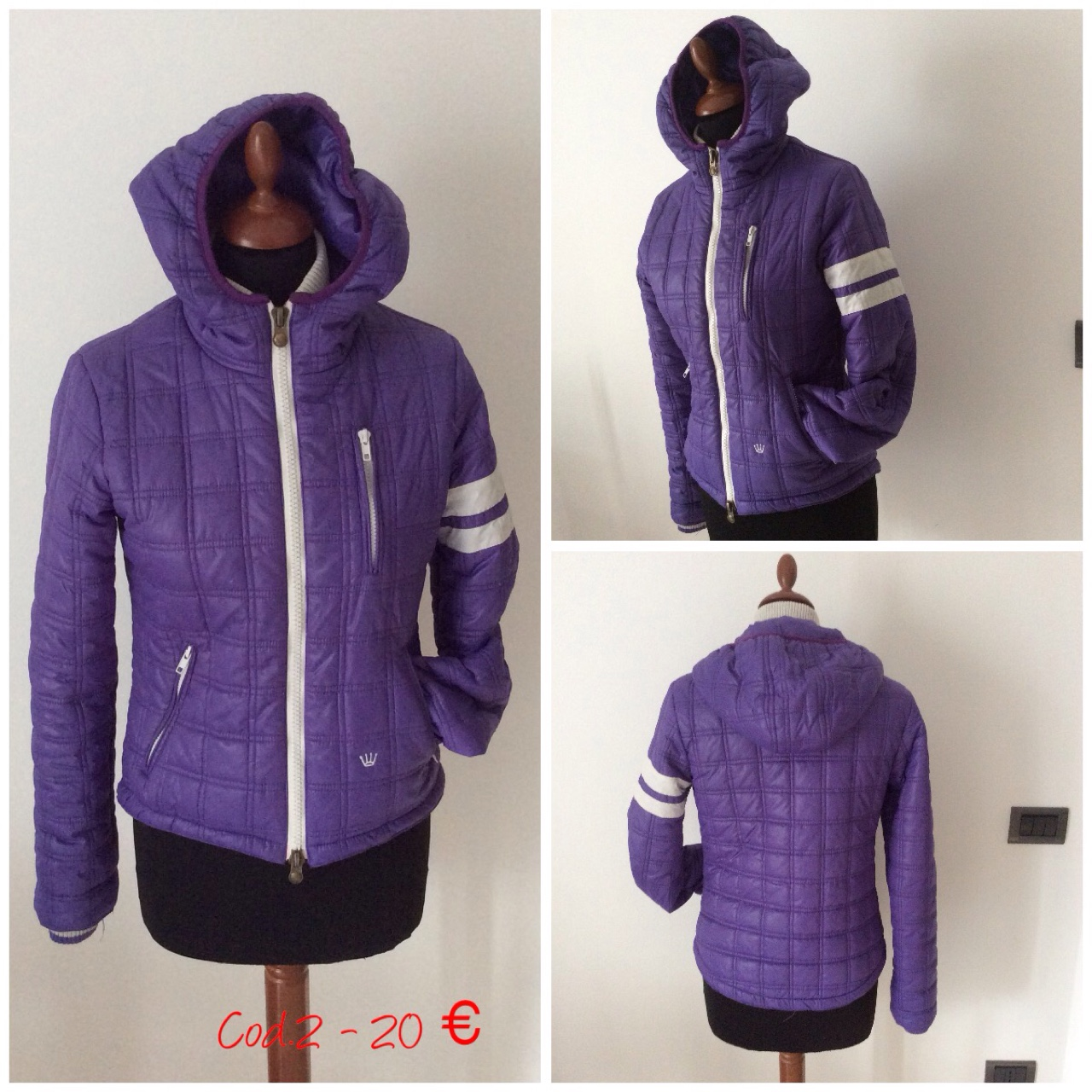 best website f6ae3 bfd92 Piumino Scout Tg. S. - Depop