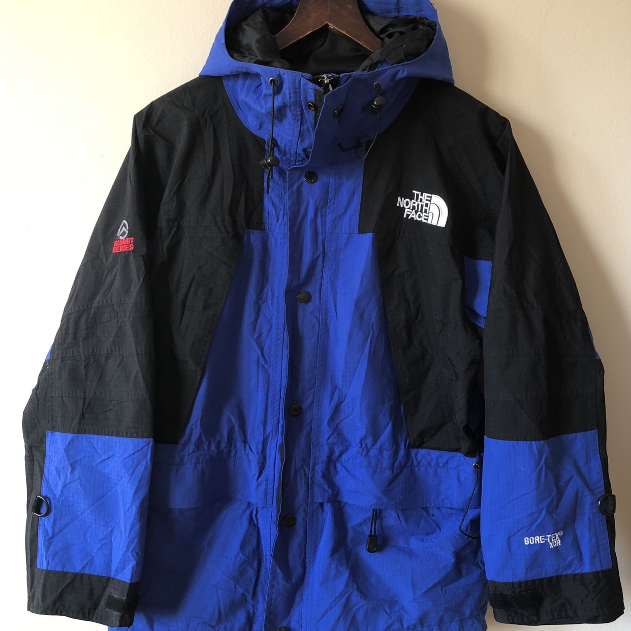 c8ab85d0f Vintage The North Face Summit Series Gore-Tex XCR... - Depop