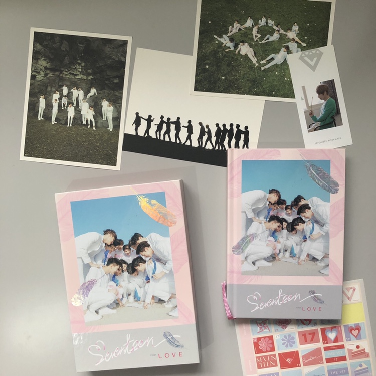 KPOP album: Seventeen Love and Letter album - love    - Depop