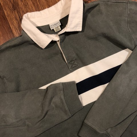 d6d39a9b @kingswood. 3 hours ago. Philadelphia, United States. Men's Vintage 90's  L.L. Bean Long Sleeve rugby polo shirt