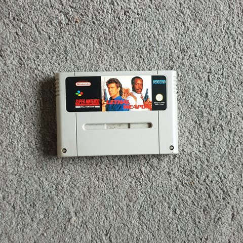 lethal weapon snes