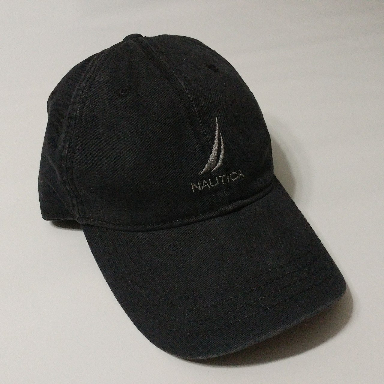 Nautica dad hat ❤90s black Nautica dad hat ❤Lots of clean TO - Depop 4cc4a8e2ce6