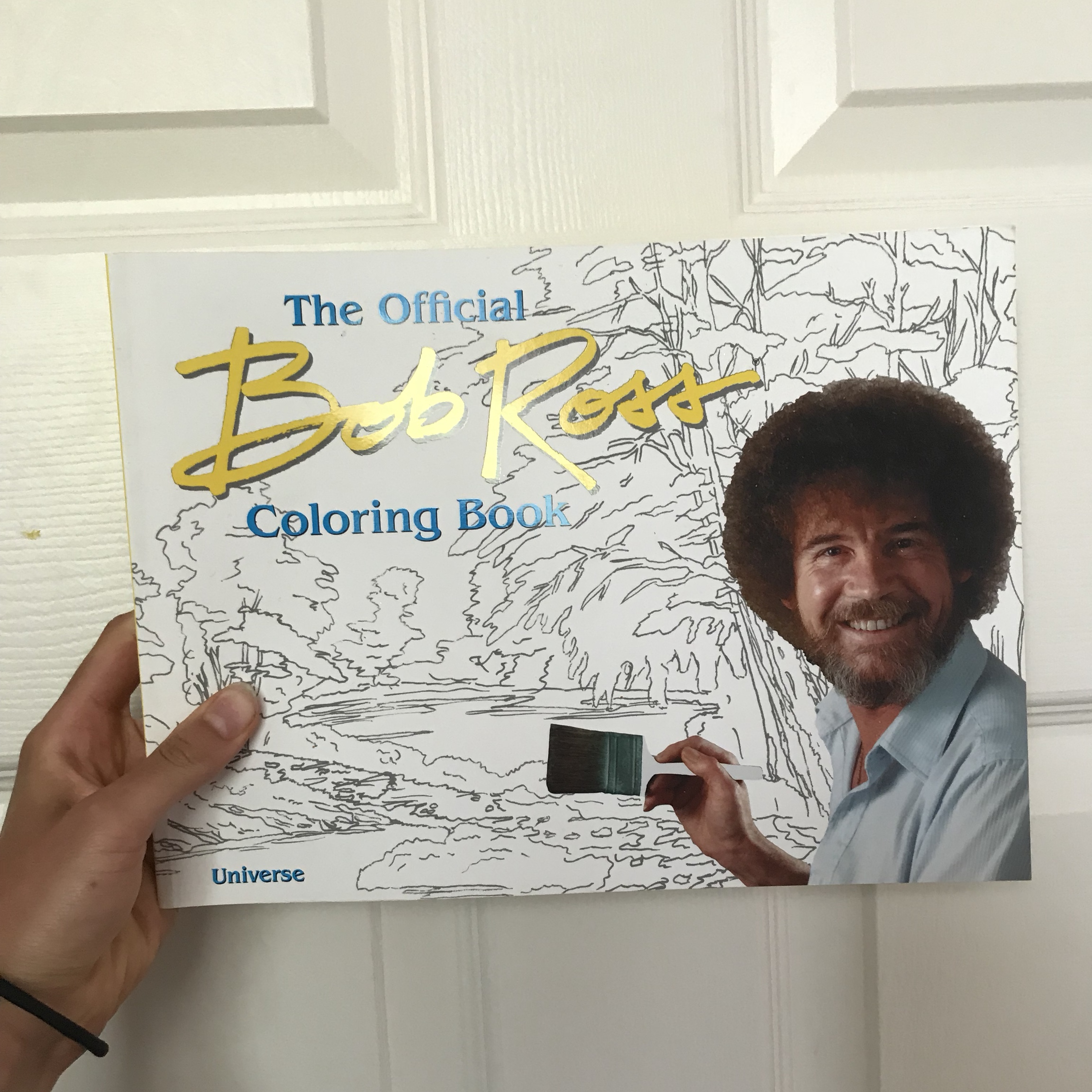 Bob Ross Coloring Book Brand New Art Bobross Depop