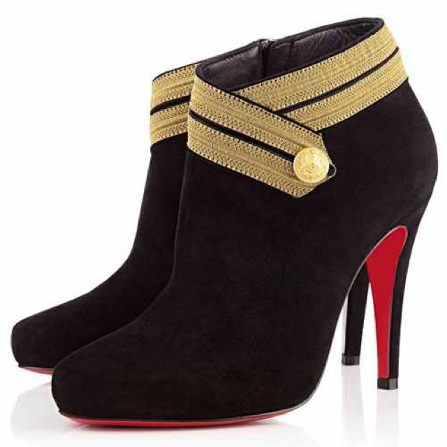7420865181fb Christian Louboutin Marychal 100mm Ankle.  490 · Christian Louboutin Zoulou  160mm Ankle