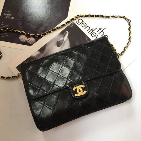 934d22aa18cd CHANEL Small Woc Wallet on Chain in Black 🌸$690 shipped and - Depop
