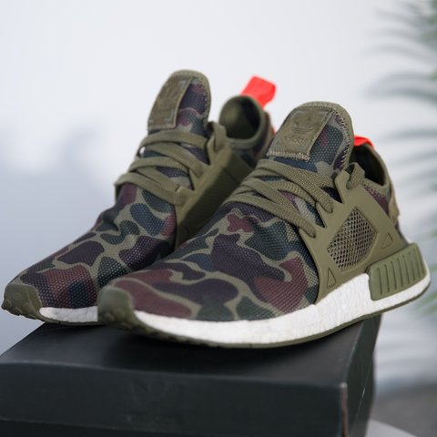 e6b0cdc37 Adidas NMD XR1 Olive Duck Camo Worn a few times - great x - Depop