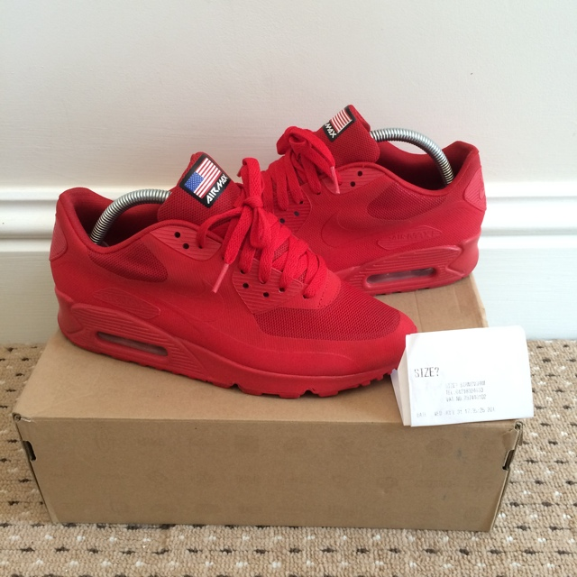 Nike Air Max 90 HYP QS 'Independence Day' Sport Red | END.