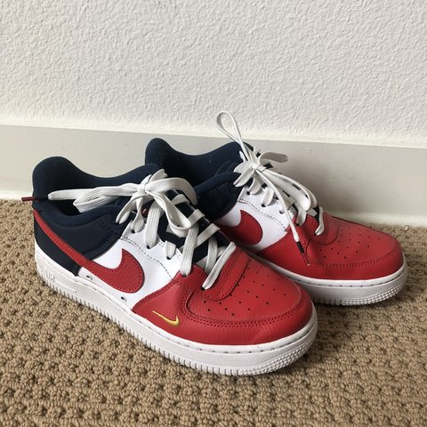 huge selection of dbd00 5f380 Nike Air Force 1, red- 0