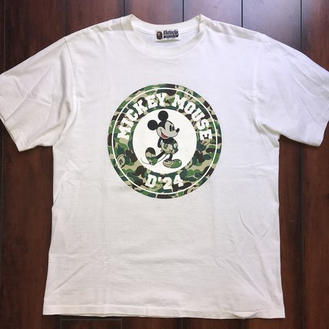 d3509100 @deadstxle. last year. Los Angeles, United States. A Bathing Ape Mickey  Mouse Tee