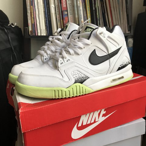 """save off 700db 49a7d deadstxle. last year. Los Angeles, United States. Nike Air Tech Challenge  2 """"Liquid Lime"""""""