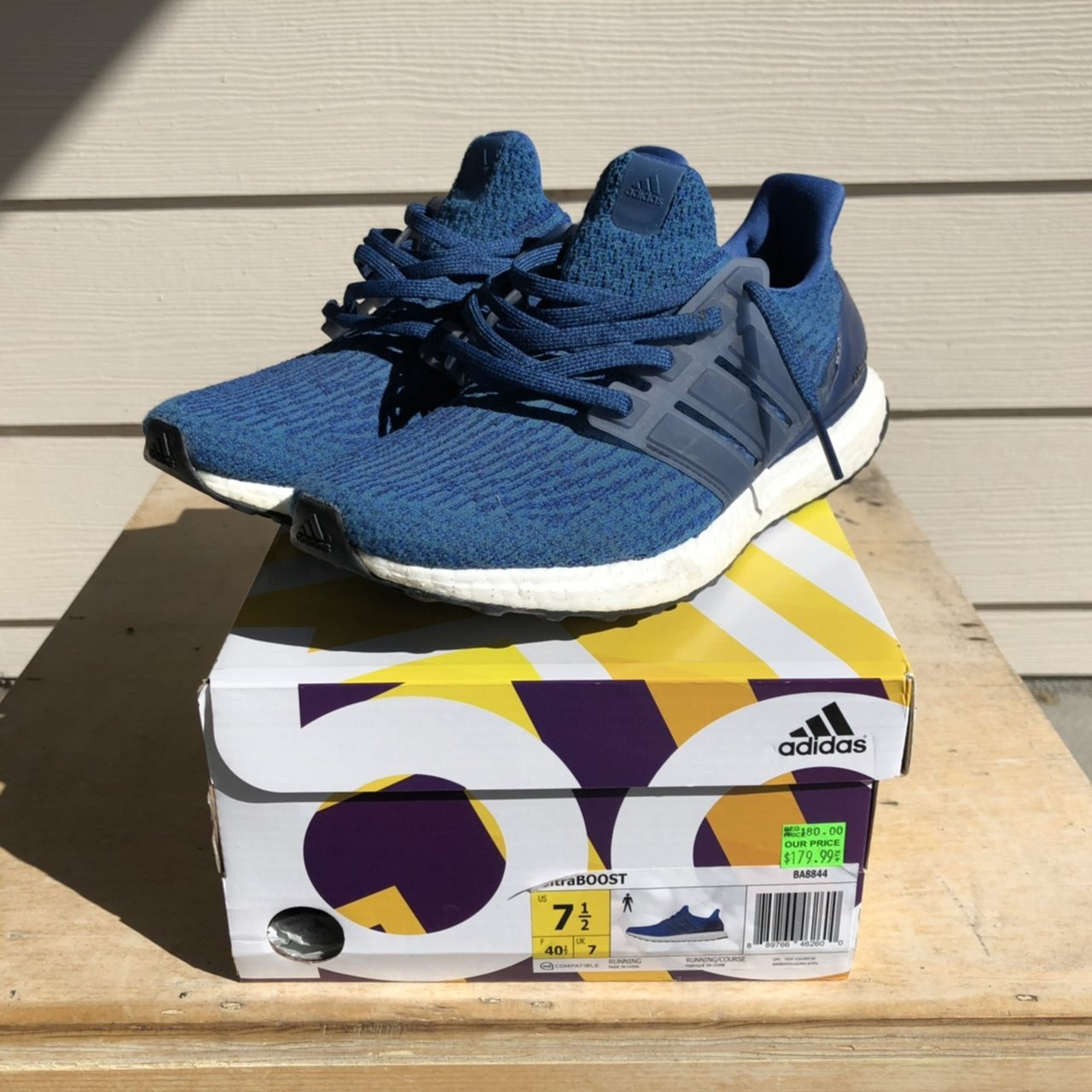d84cd1c40  jessiedeguzman. last month. United States. PRE OWNED Adidas Ultra Boost 3.0  Mystery Blue in size ...