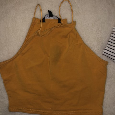 48828808221 @mollyhill07. 3 months ago. Eastbourne, United Kingdom. Mustard colour crop  top ...