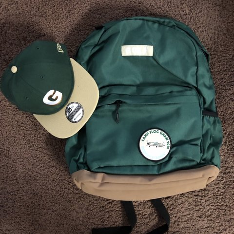 54a1aa1510064b GOLF WANG backpack and snap back + a free Camp Flog Gnaw for - Depop