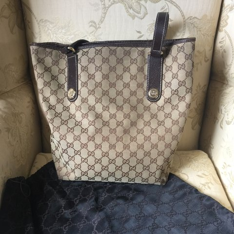 6084d7cda2e2 REDUCED PRICE NOW €100**** Gucci shopper tote. Bought in - Depop