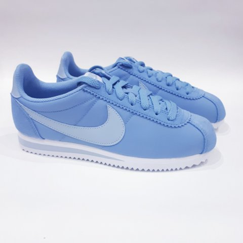 finest selection 3c229 a5181  trillkingcole. 7 months ago. Huddersfield, UK. Baby Blue Nike Classic  Cortez