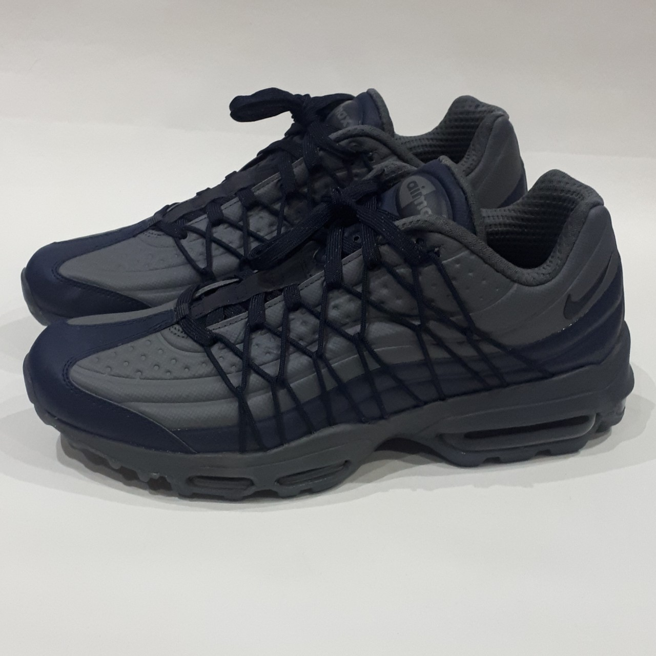 ObsidianDark Grey Nike Air Max 95 Ultra SE Size UK Depop